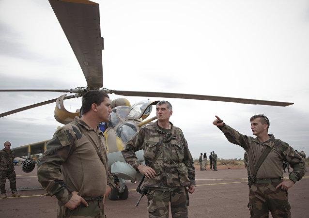 Des militaires français en Arfique