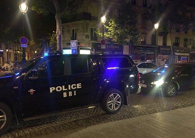 Opération antiterroriste à la Gare du Nord à Paris