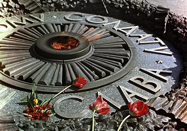 La flamme éternelle à Kiev