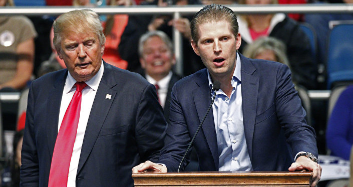 Donald et Eric Trump