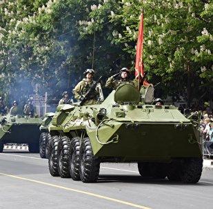 Défilé de la Victoire en Crimée