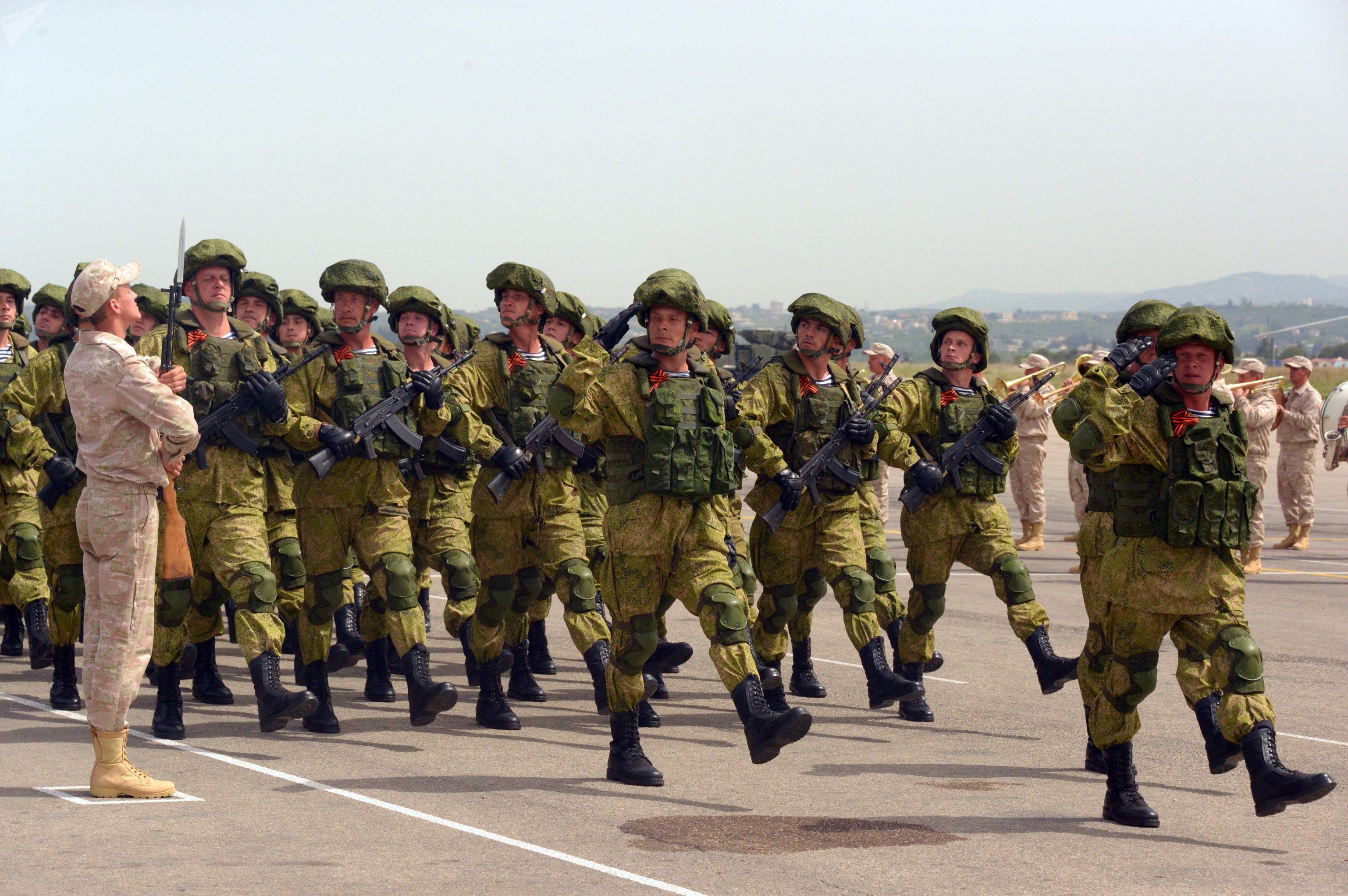 Défilé militaire en Syrie