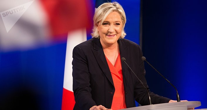 Marine Le Pen. Photo d'archive