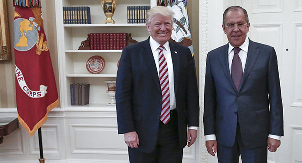 Internationale - Trump rencontre le MAE russe Sergueï Lavrov