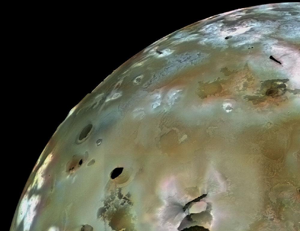 Io, une lune de Jupiter