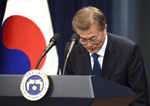 Le président sud-coréen élu Moon Jae-in