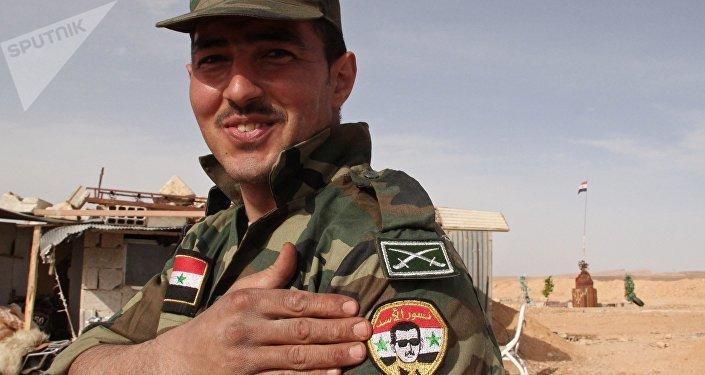 L'armée gouvernementale syrienne