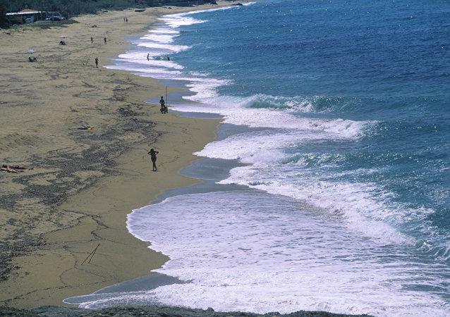 La côte de la Calabre