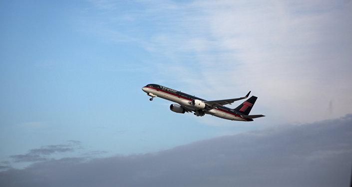 L'avion présidentiel de Trump