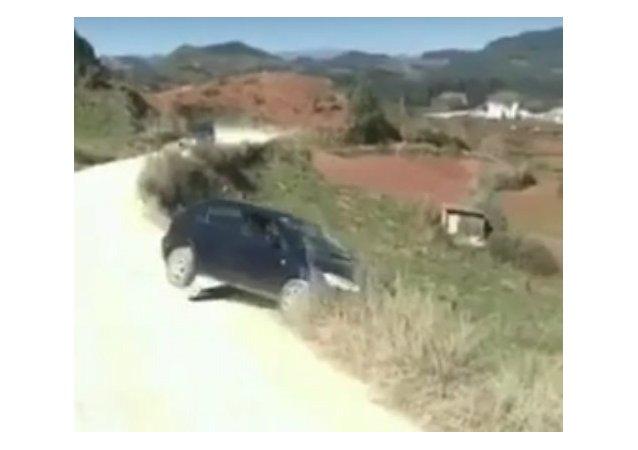 Une automobiliste chinoise