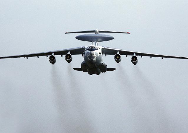 L'avion de reconnaissance russe A-50
