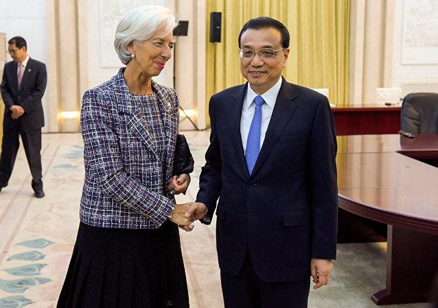 Christine Lagarde et Li Keqiang