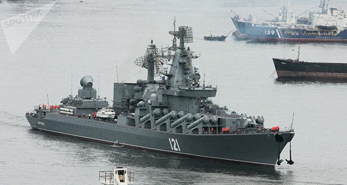 Croiseur lance-missiles russe Moskva