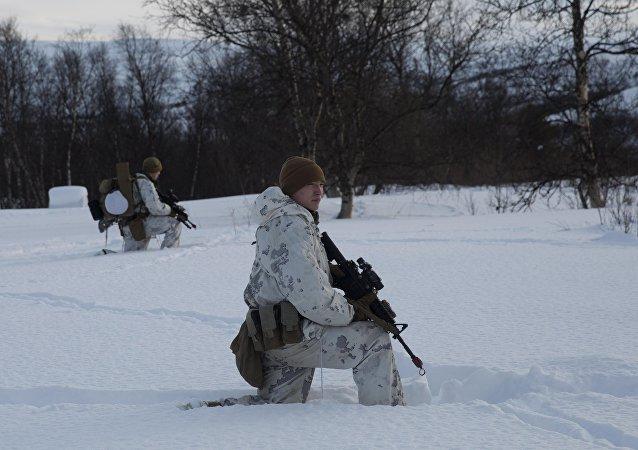 marins US en Norvège
