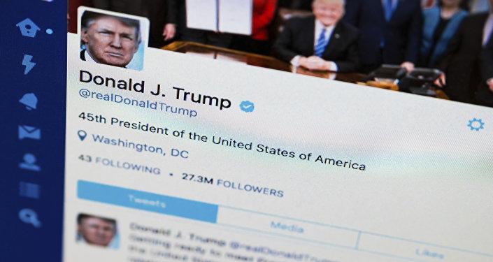 Ccompte Twitter de Donald Trump