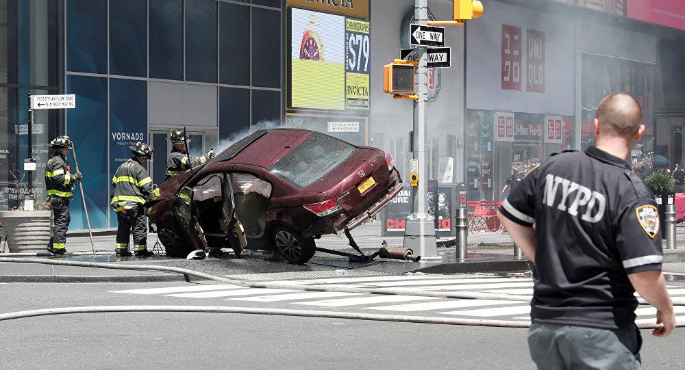 Situation à Times Square suite à l'incident