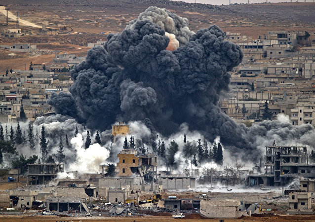 Frappe US en Syrie. Archive photo