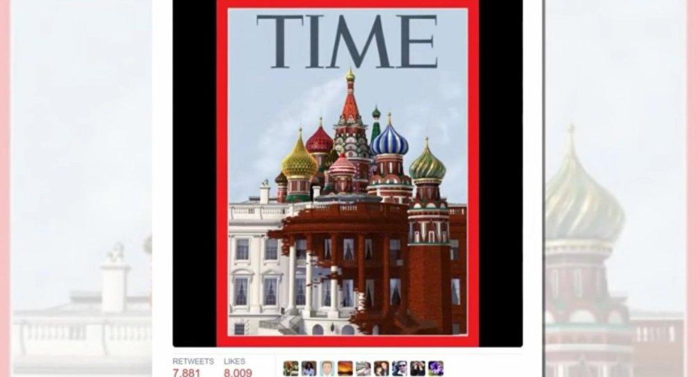 La couverture de l'hebdomadaire Time