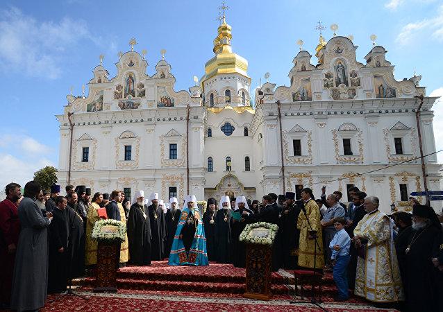 Intronisation du chef de l'Église orthodoxe d'Ukraine du Patriarcat de Moscou