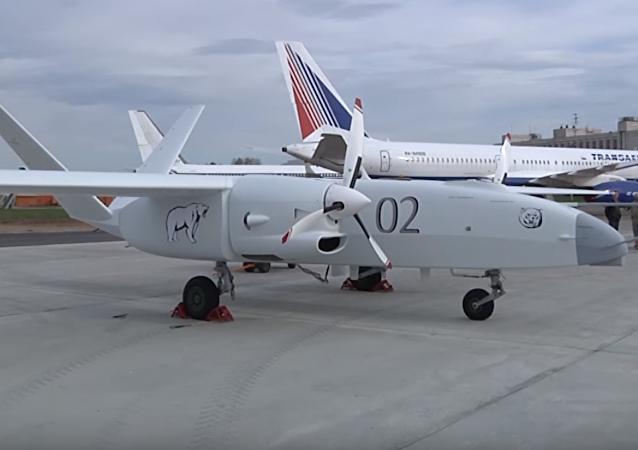 Prototype du drone lourd russe Altaïr