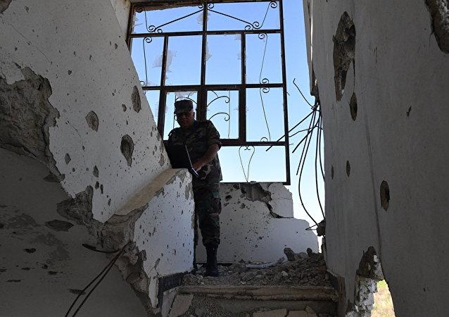 les forces gouvernementales d'Assad