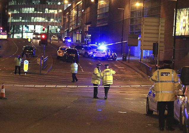 Manchester après l'explosion du 22 mai
