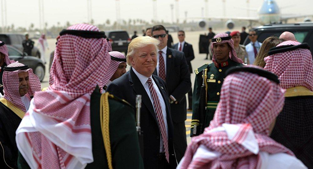 En Arabie saoudite, Trump
