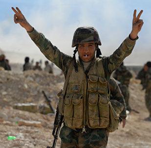Soldat de l'armée syrienne