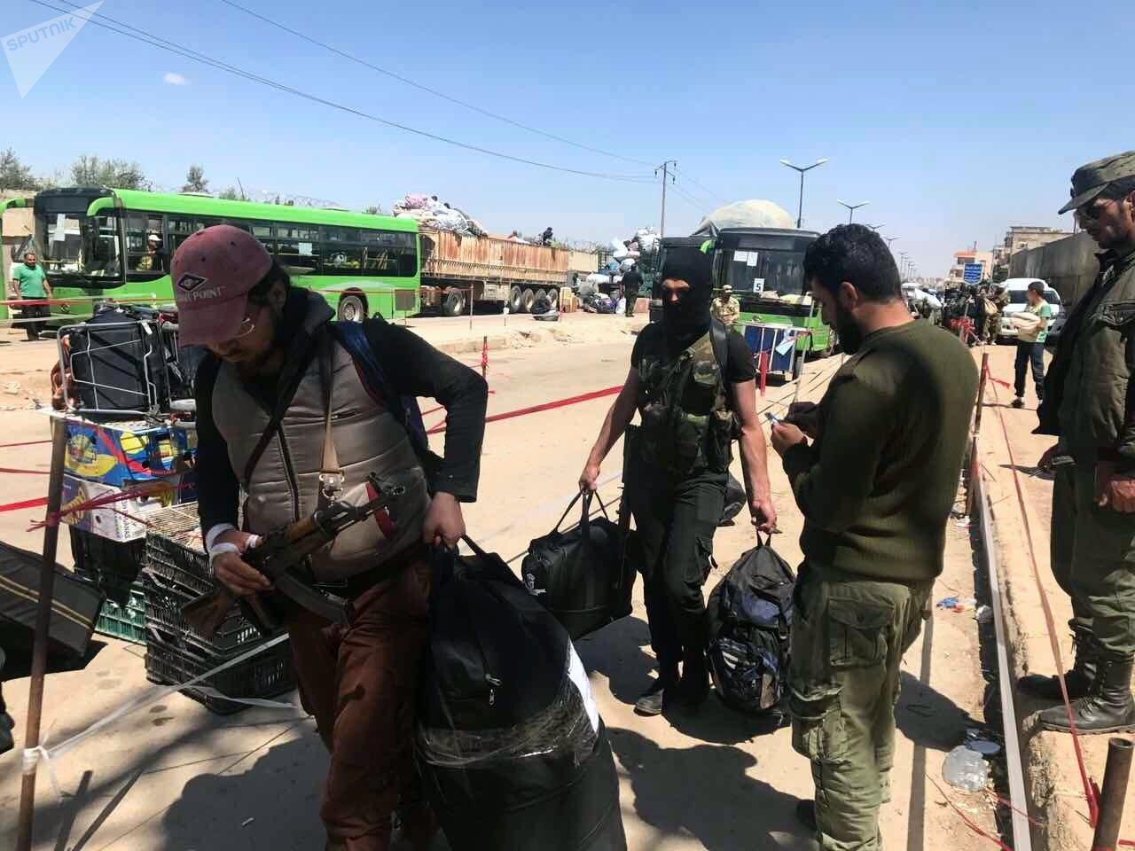 Evacuation des combattants de Homs