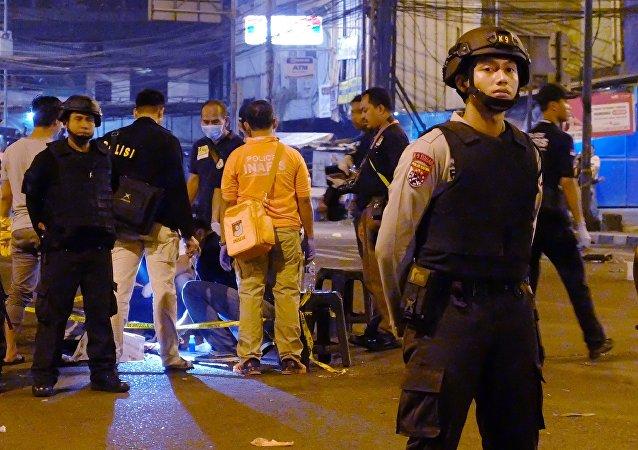 Double attentat à Jakarta