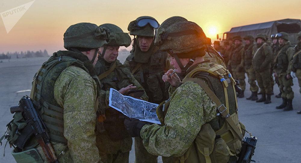 Des militaires russes en Syrie (image d'illustration)