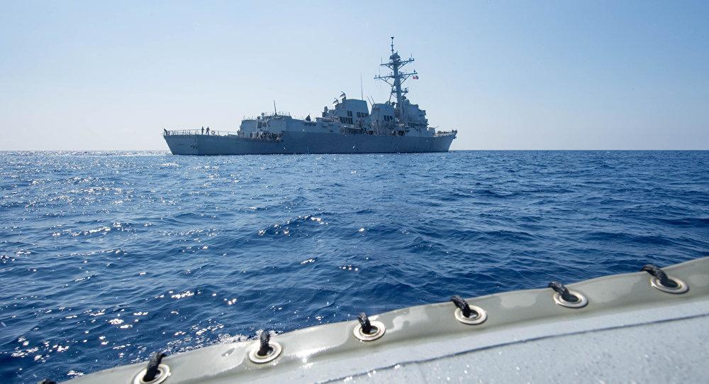 Le destroyer USS Dewey