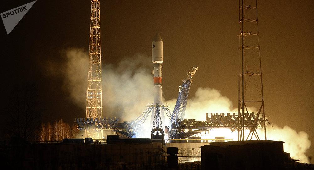 Lancement d'une fusée Soyouz-2.1b portant un satellite GLONASS
