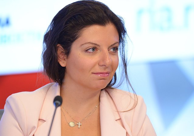 Margarita Simonian augure l'interdiction du mot «Russie» aux USA