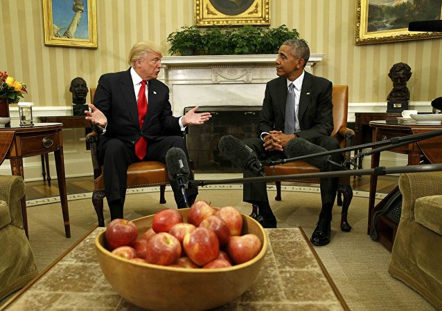 Donald Trump et Barack Obama