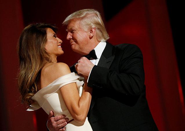 Donald Trump et Melania Trump