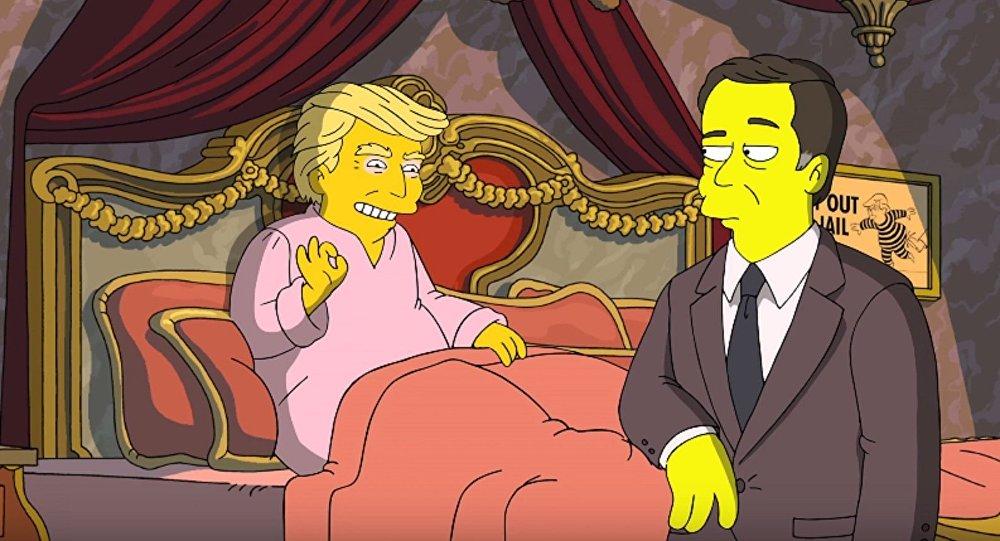 Trump propose à Comey de repartir à zéro... dans «Les Simpson»