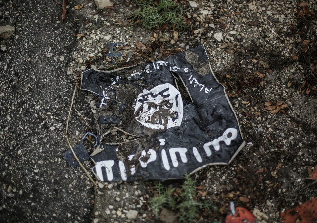 Drapeau de Daech*, image d'illustration