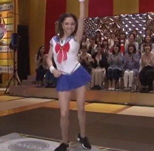 La jeune patineuse russe Evgenia Medvedeva
