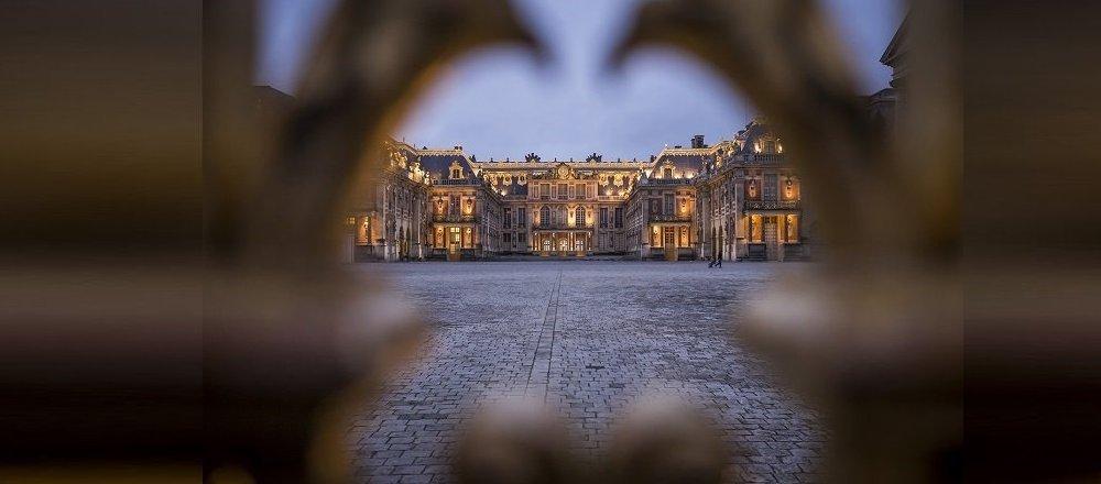 Château de Versailles. Archive photo