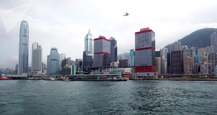 Mer de Chine,Hong Kong