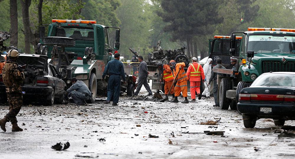 l'attentat de Kaboul