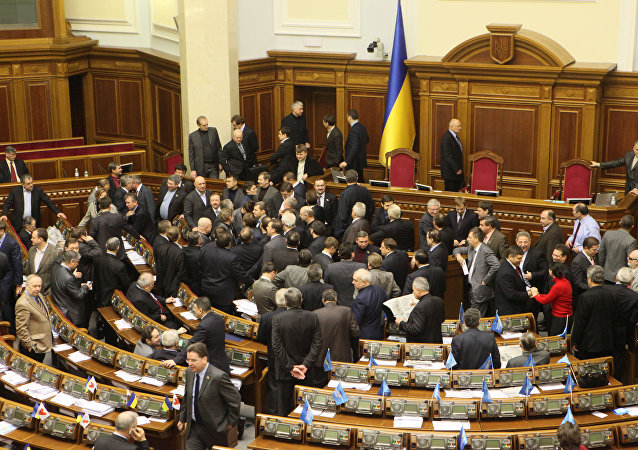 Voter une loi à l'ukrainienne: une bagarre éclate dans le conseil municipal de Kiev