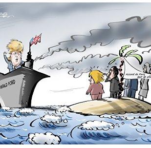 Les États-Unis sortent de l'Accord de Paris sur le climat