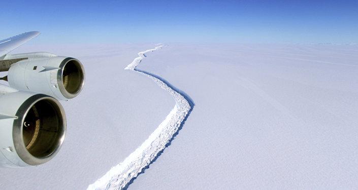 Fissure de Larsen C