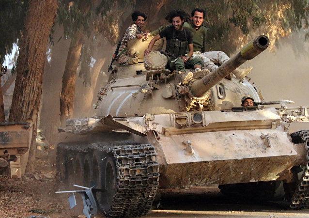 Membres de l'Armée nationale libyenne