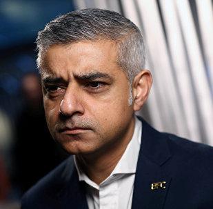Maire de Londres Sadiq Khan