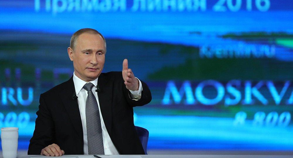 Ligne directe avec Vladimir Poutine - 2016