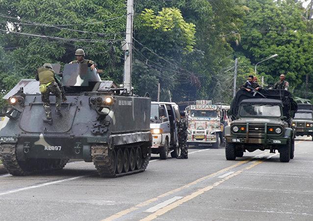 Philippines: 70 policiers portés disparus après des combats contre Daech