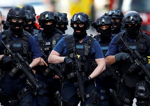 Police à Londres